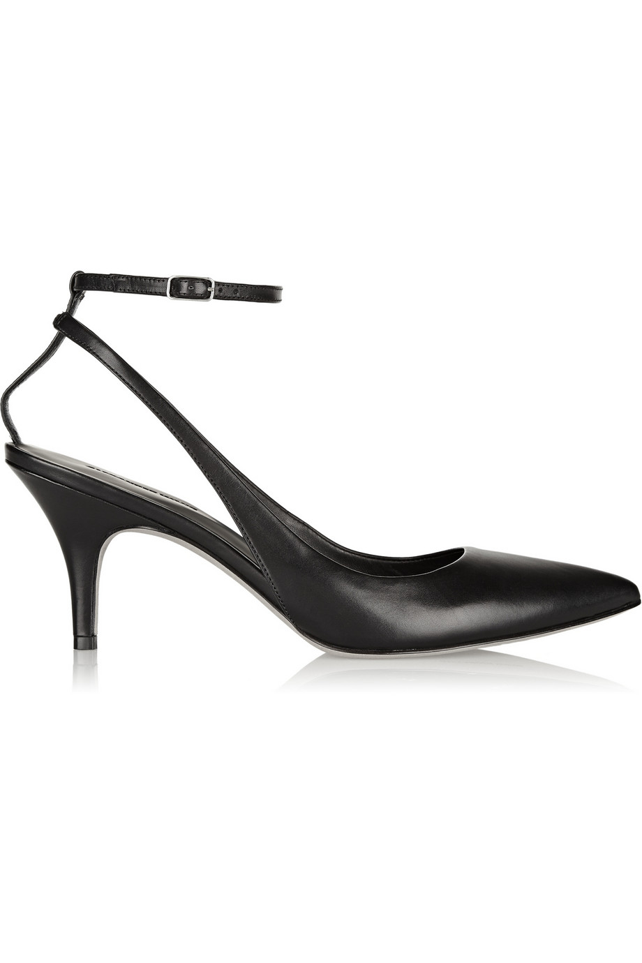Alexander Wang Lera leather pumps – 50% at THE OUTNET.COM