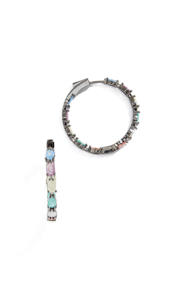 Nickho Rey Gil Pear Earrings in stone / multi