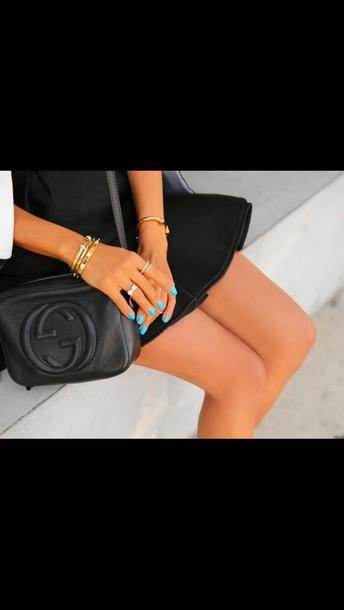 nail polish bag jewels