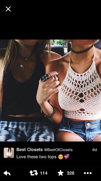 blouse knitted top crop tops jewels
