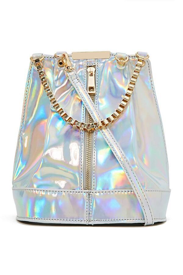 bag laser silver bag