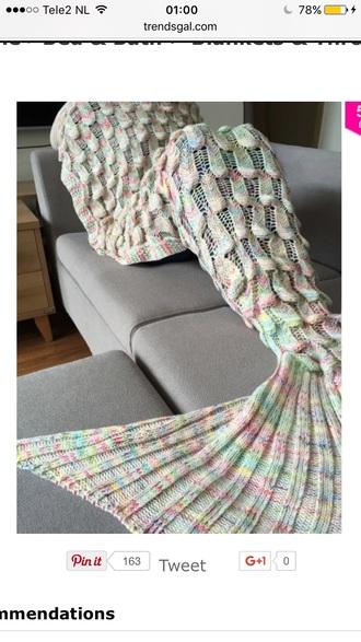 home accessory mermaid blanket warm trendy fashion style trendsgal.com