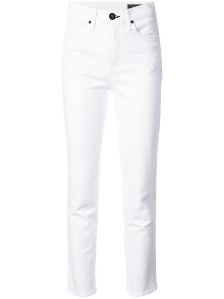 Rag & Bone /Jean jeans high women white cotton