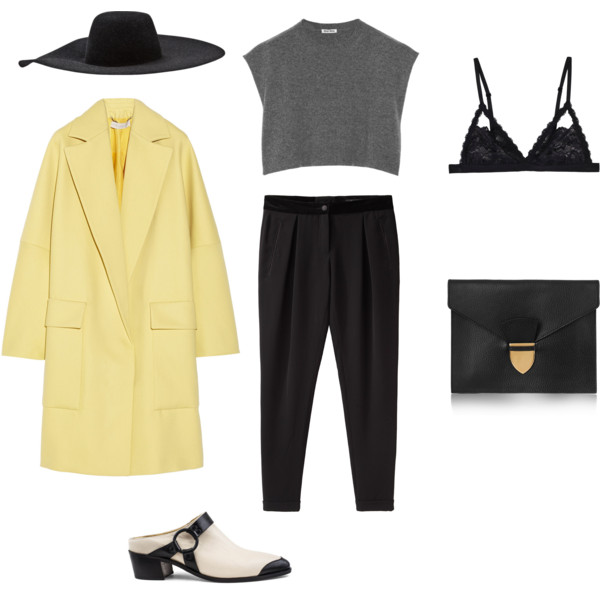 THE LEMON COAT - Polyvore