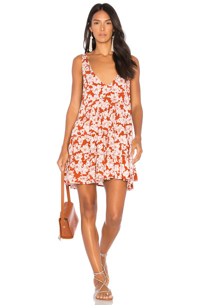 Acacia swimwear dress rust