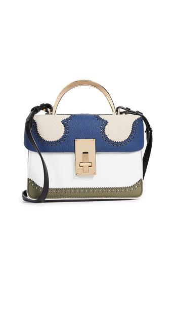 satchel navy bag