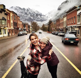 shirt flannel shirt instagram sophia bush coat