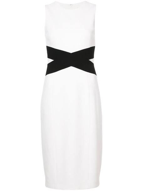 Michael Kors dress pencil dress women white wool
