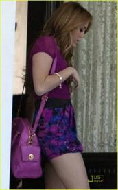 bag,miley cyrus,pink