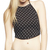 Polka Dot Halter Crop Top | Wet Seal