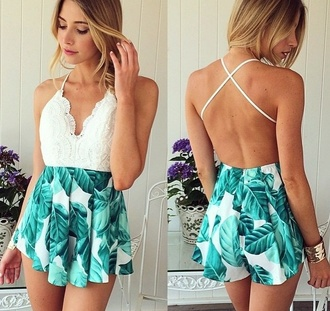 shorts blue shorts white top dress
