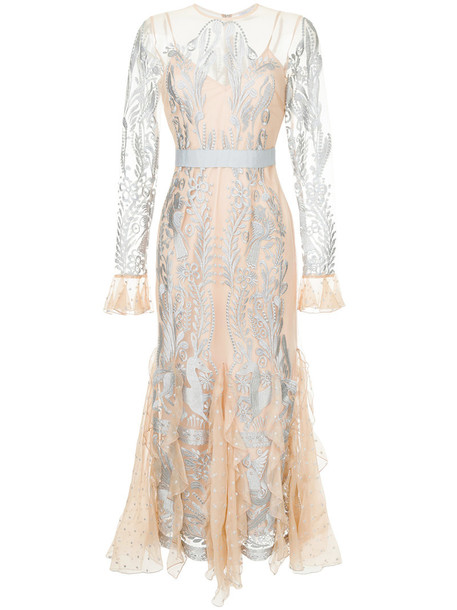 Alice McCall gown women nude dress