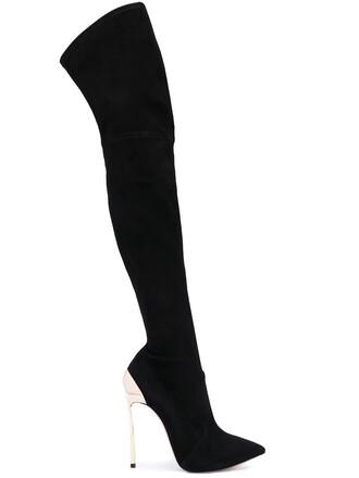 heel metallic women boots heel boots leather black shoes
