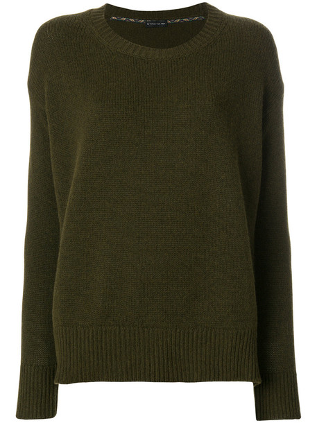ETRO sweater women wool green