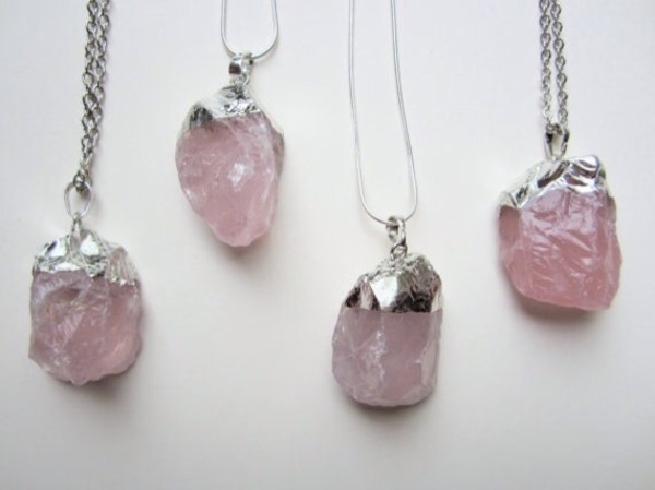 jewels chunky crystal necklace