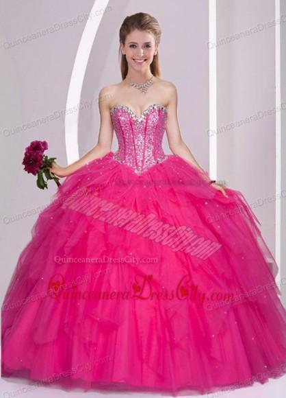 pink dress puffy princess dress tulle dress