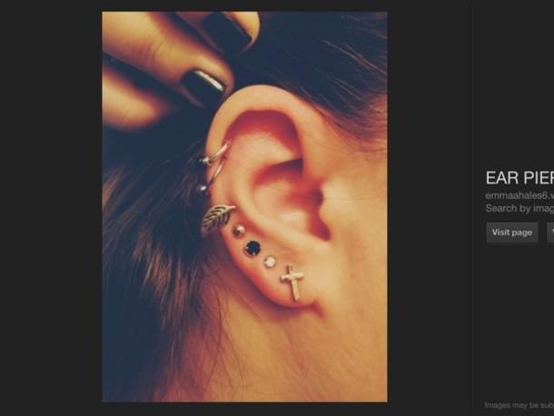 Hoops vs Studs Cuff Stud Earrings Hoop