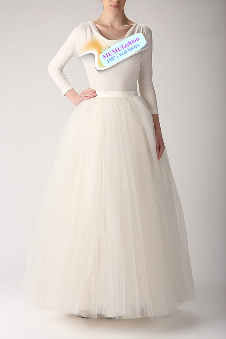 Discount -Women 6 Layers Vintage Desinger Gauze Tulle Long TuTu Skirt Custom Made Wedding Ball Grown Prom Dress Maxi Skirt Midi Sheer Mesh Online with $35.61/Piece | DHgate