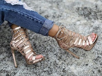 shoes heels lace anycolour