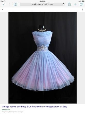 dress alice in wonderland baby blue chiffon dress party dress prom dress evening dress vintage dress