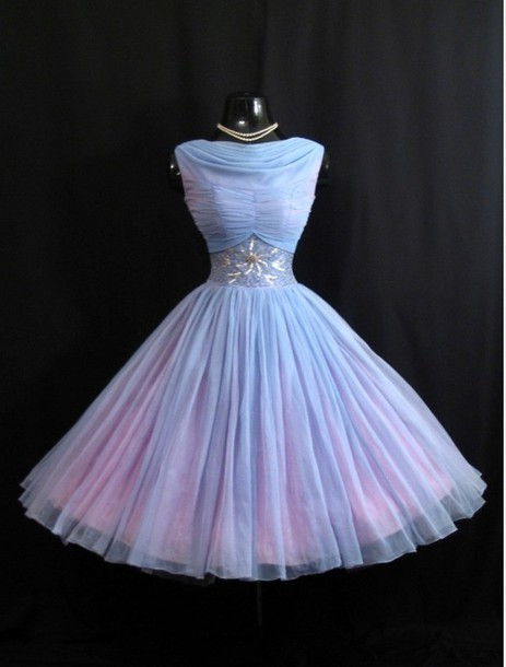 dress alice in wonderland baby blue chiffon dress party dress