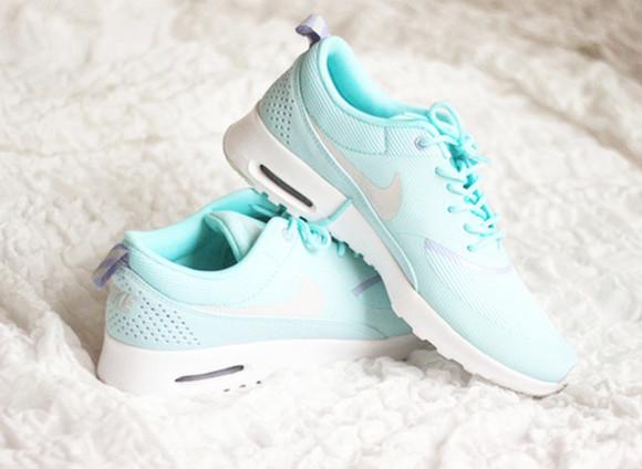 shoes air max blanc gris grey vert girl sportswear green white chaussure thea fashion