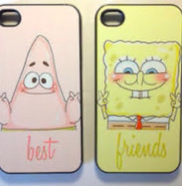 phone cover spongebob