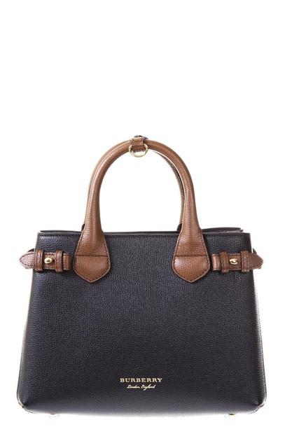 bag leather tan black
