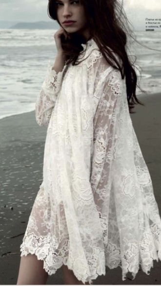 white dress bridal dresses wedding dress lace dress hipster wedding