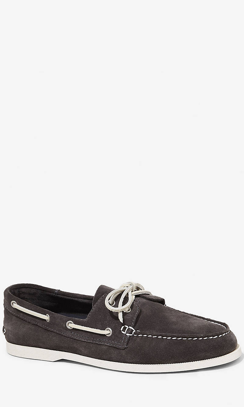 SUEDE BOAT SHOE from EXPRESS