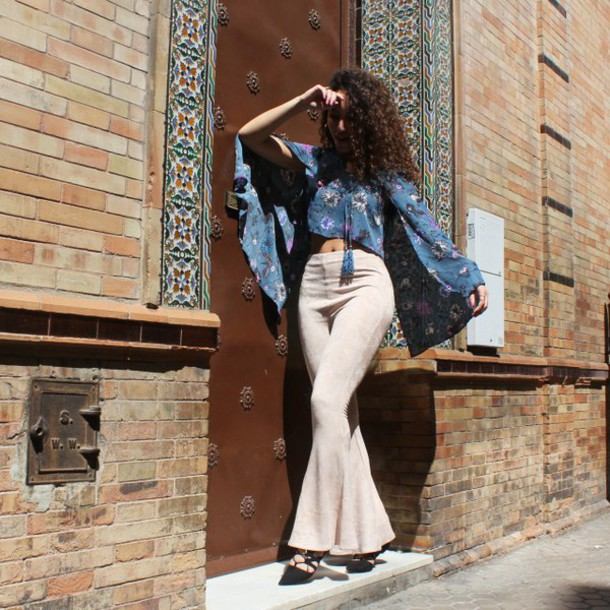 from hats to heels blogger top pants shoes jewels sunglasses hat suede pants