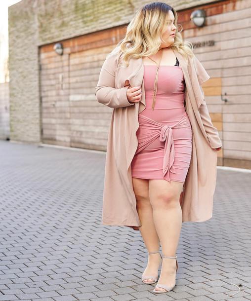 natalieinthecity, blogger, dress, shorts, coat, tights, trench coat ...