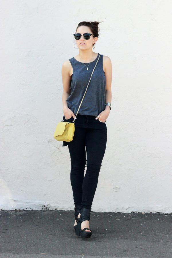 the little magpie jeans shoes bag sunglasses