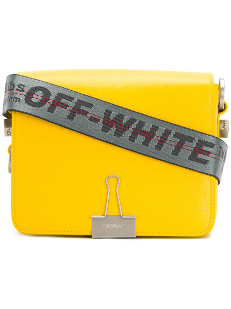 women bag leather yellow orange