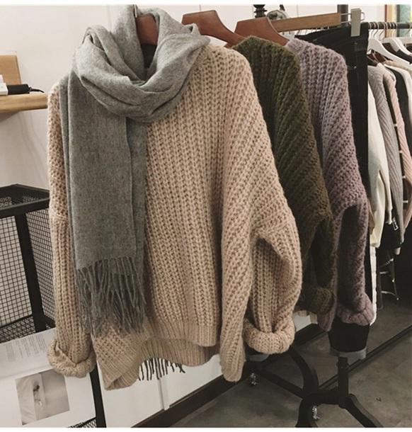 sweater girly sweatshirt fall sweater fall colors knitwear knit knitted sweater