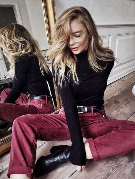 pants burgundy maroon/burgundy red pants vintage jeans