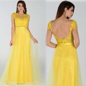 dress,yellow dress,formal wear,pageant dress,discountdressshop,prom dress