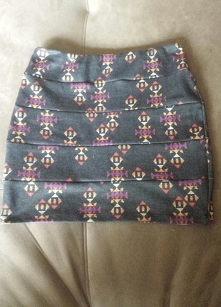 Tribal skirt from pacsun