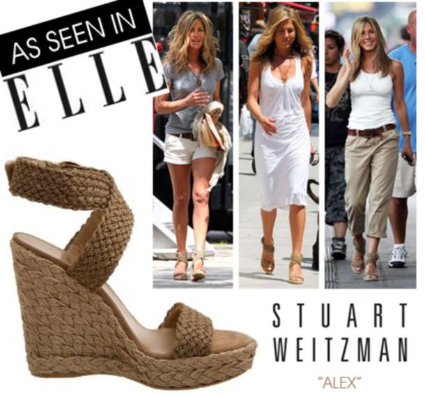 shoes, stuart weitzman, elle, wedges