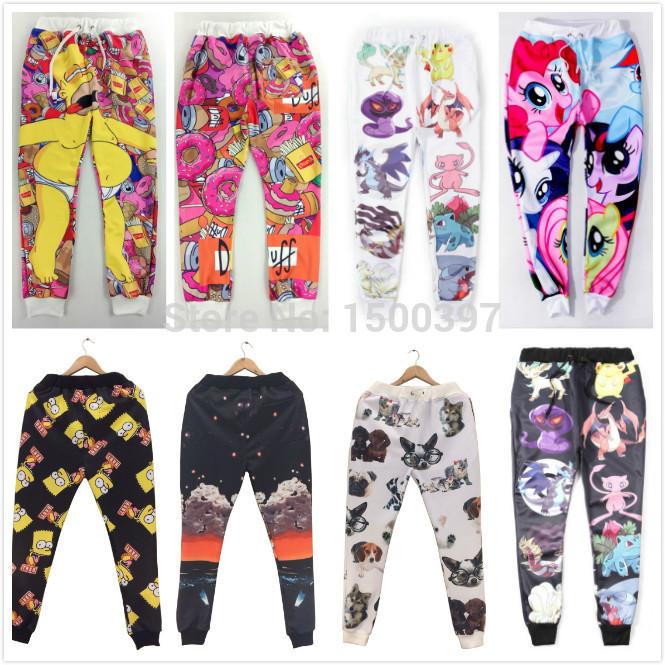 Aliexpress.com : buy 2015 hot sale women/men/girl/boy jogging pants print 3d cartoon emoji fashion gym trousers running sport sweatpants joggers from reliable trouser hanger suppliers on igoodbuy