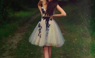 dress prom dress formal event outfit strapless short dress prom graduation dress