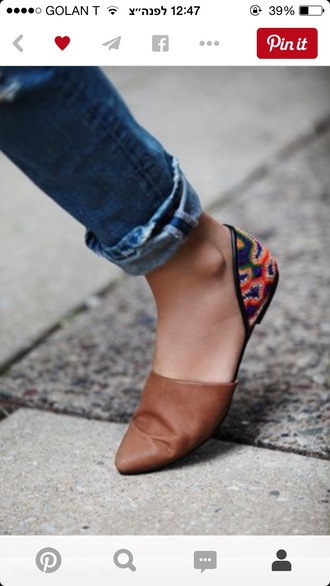 shoes flats boho chic boho fashion rajah flat aztec tribal pattern