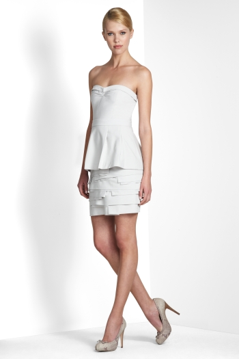 SHOP BY CATEGORY: DRESSES: VIEW ALL: ANNIKA TIERED STRAPLESS DRESS