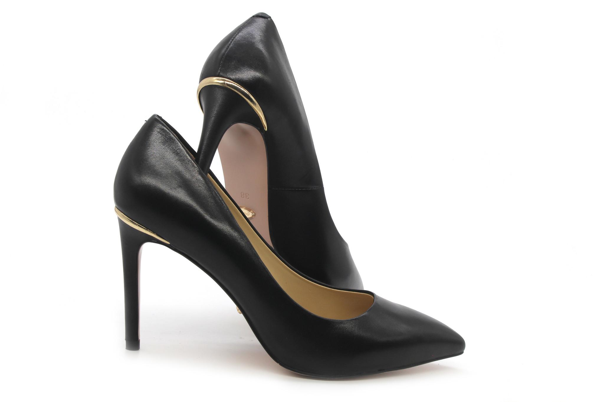 ac0c34452c7a 3 Inch Office Pumps - Classic Black Low Heels