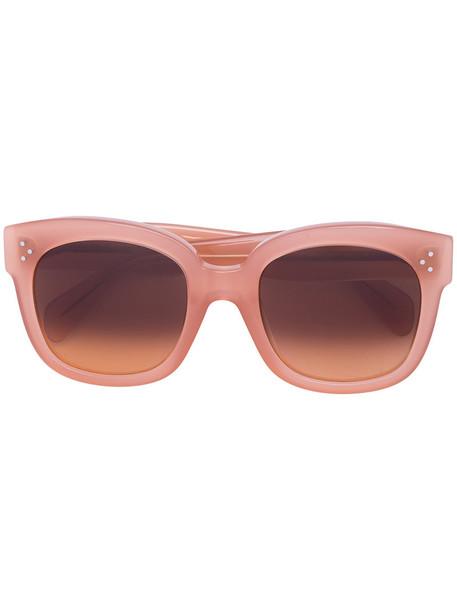 Céline Eyewear women sunglasses purple pink