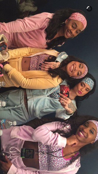 Jumpsuit Kehlani Halloween Cheetah Girls Sweatsuit Set