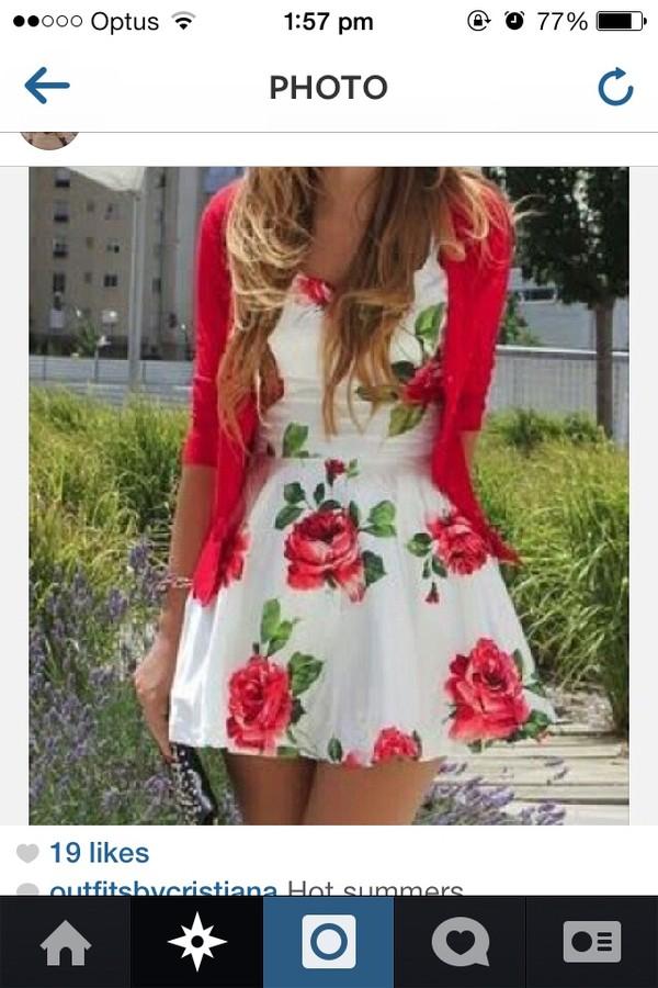 dress puffy red dress