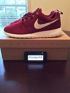 Nike Roshe Run Black Red Ebay