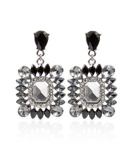 White House | Black Market Crystal Burst Drop Post Earring