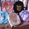 Pastel transparent heart backpack · ocean kawaii · online store powered by storenvy